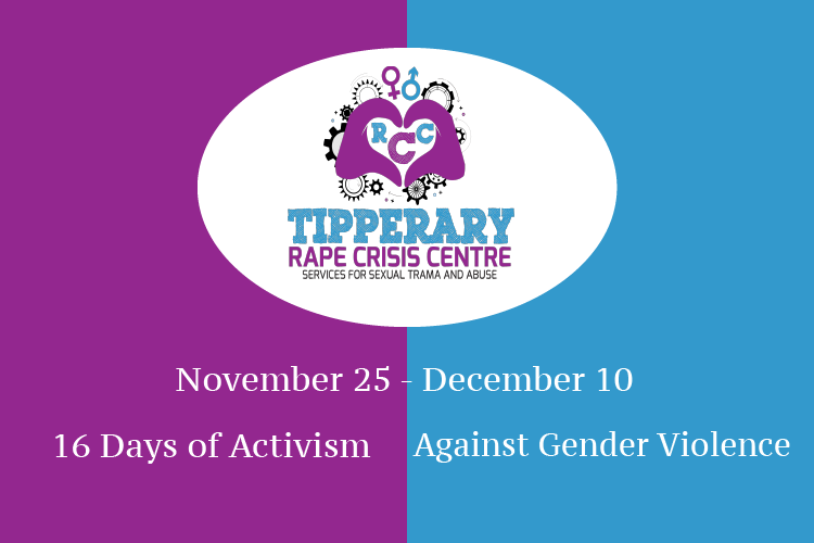 tipperary rape crises centre 16 days against gender violence