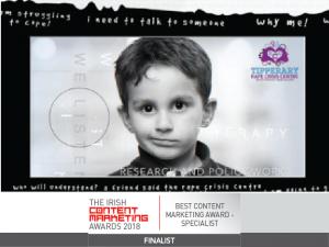 irish content marketing awards shortlist tipperary rape crises centre